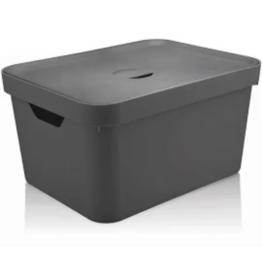 Caixa Organizadora Cube G Com Tampa OU Chumbo