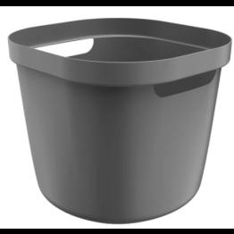 Cesto Cube Flex OU 28 Litros - Chumbo