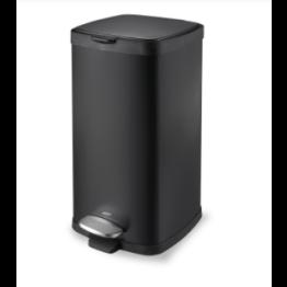 Lixeira Aço Carbono Pedal e Balde Brinox - Linha Frame 20 l