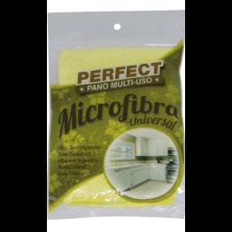 Pano Microfibra Universal Amarelo Perfect
