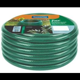 Mangueira Flex Tramontina em PVC 3 camadas - Cor Verde, 10m